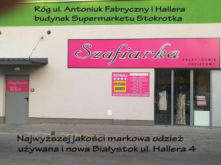fdf4615c75 SZAFIARKA Białystok - nowa lokalizacja ul.Hallera 4 (budynek ...